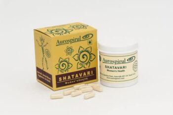 Aurospirul Shatavari 100 kapsler, 50g - pris og anmeldelser - økologisk