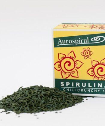 Aurospirul Spirulina Chili Crunchy 100g - økologisk