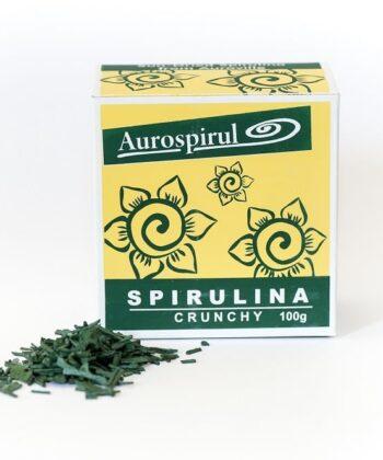 Aurospirul Spirulina Crunchy 100g - økologisk