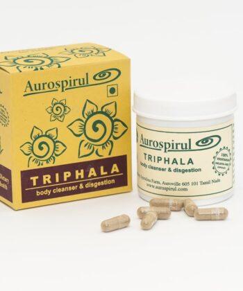 Aurospirul Triphala 100 kapsler, 50g - økologisk