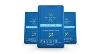 Anti-bac screen & hand spray Biopocket