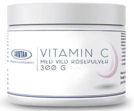 Høy absorpsjon, naturlig Vitamin C av Steinnype 300g
