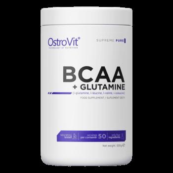 kostholdstilskudd OstroVit BCAA plus glutamin 500g