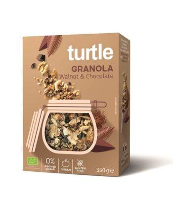 økologisk Granola med Sjokolade